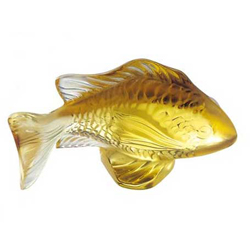 Damsel Fish Gold Lalique 3025100