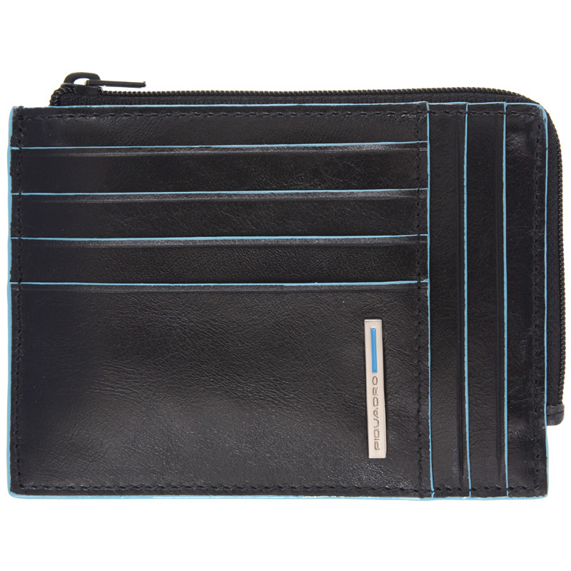 Кредитница Piquadro Blue Square Black