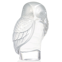 Owl Paperweight Lalique 1181500