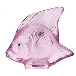 Fish Pink Lalique 3002800
