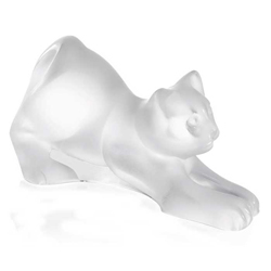 Stretching Kitten Lalique 1217300