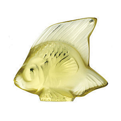 Fish Yellow Lalique 3002400