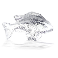 Damsel Fish Clear Lalique 3025000