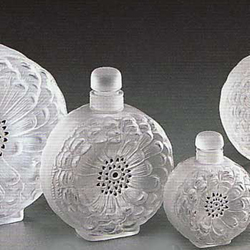 Dahlia No.4 Perfume Bottle Lalique 1135300