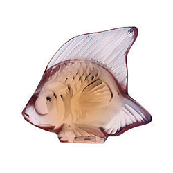 Fish Opaque Pink Lalique 3001700
