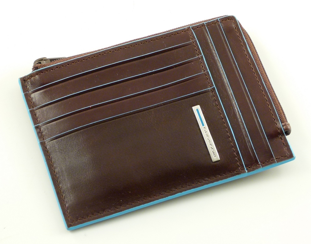 Кредитница Piquadro Blue Square Brown