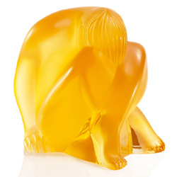 Nude Sitting Amber Lalique 1191810
