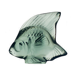Fish Khaki Lalique 3002000