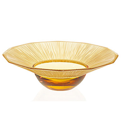 Ваза для фруктов China Mood Bowl Amber Medium Lalique 10016100