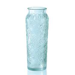 Ваза Blossom Blue Lalique 1249600