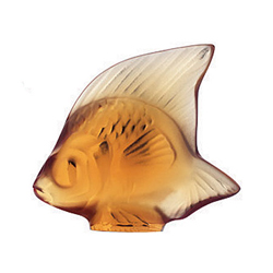 Fish Amber Lalique 3000700