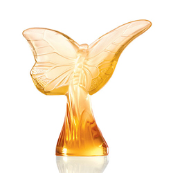 Butterfly Rosee Gold Lalique 1217700