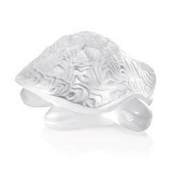 Sidonie Turtle Clear Lalique 1213800