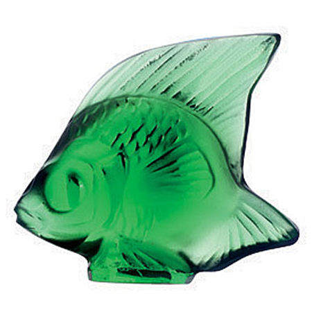 Fish Emerald Lalique 3001000