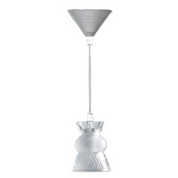 Thistle Ceiling Light Clear 240V Lalique 1014000