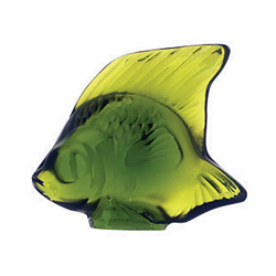 Fish Lime Green Lalique 3000900