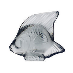 Fish Grey Lalique 3001400