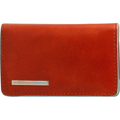 Визитница Piquadro Blue Square Orange
