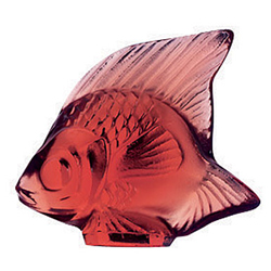 Fish Golden Red Lalique 3003100