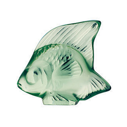 Fish Mint Green Lalique 3001900
