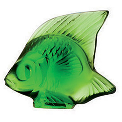 Fish Green Meadow Lalique 3003200